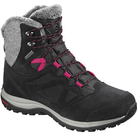 Salomon W's Ellipse Winter GTX Shoes Black/Phantom/Cerise